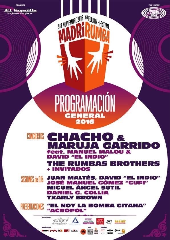 cartel Madrirumba 2016